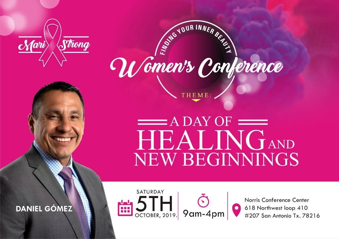 Image of Daniel Gomez Enterprises Inspires, Findind Your Inner Beauty Women's Conference, Breast Cancer Awareness Month October, San Antonio Texas October