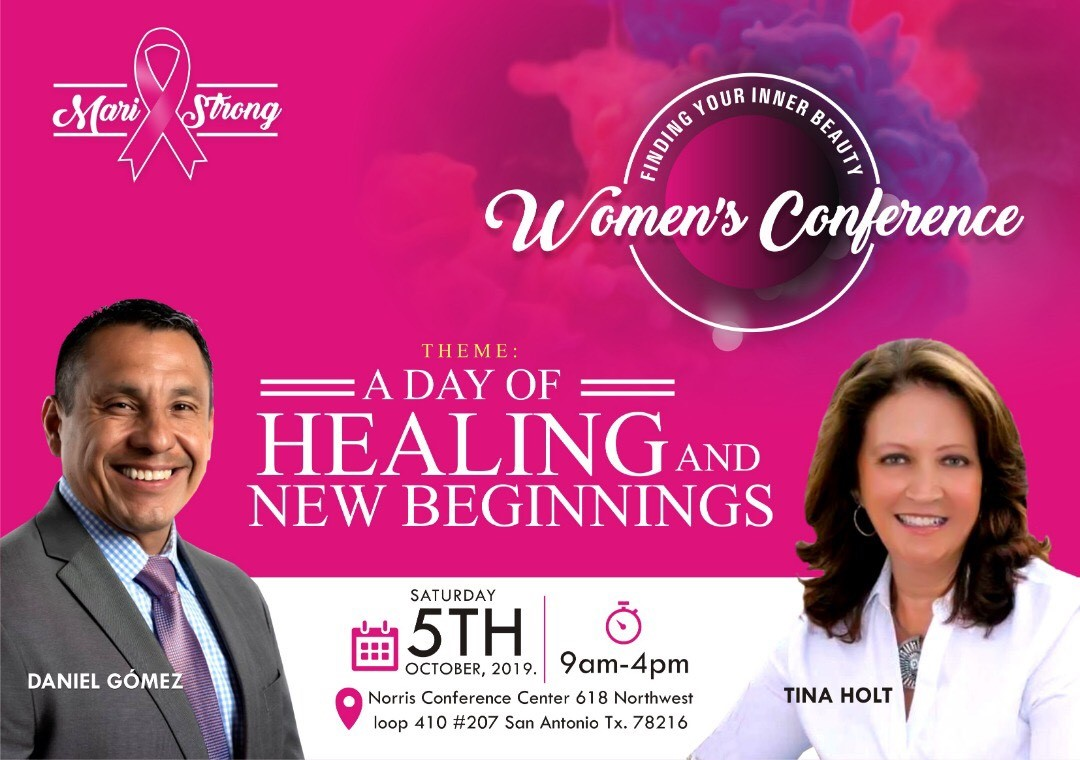 Image of Daniel Gomez Enterprises Inspires, Findind Your Inner Beauty Women's Conference, Breast Cancer Awareness Month October, San Antonio Tx