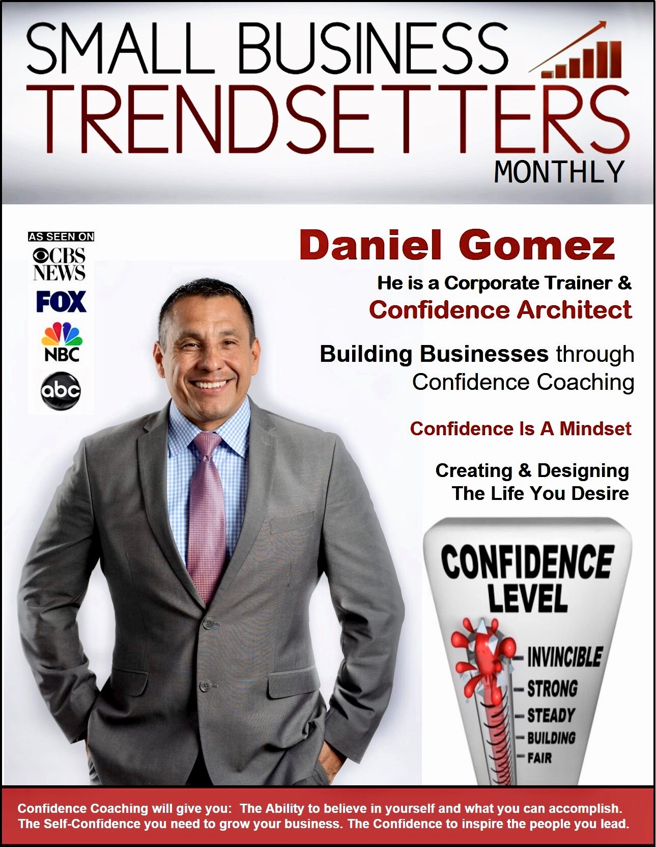 Image of Daniel Gomez Enterprises Inspires Corporate Trainer, Motivational Keynote Speaker, Confidence Business and Life Coach in San Antonio, Texas