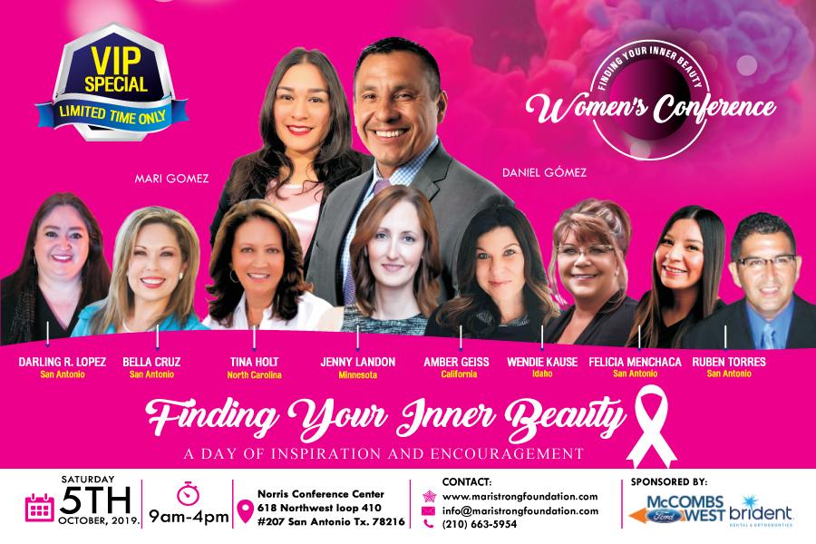 Image of Daniel Gomez Enterprises Inspires, Findind Your Inner Beauty Women's Conference, Breast Cancer Awareness Month October, San Antonio Tx