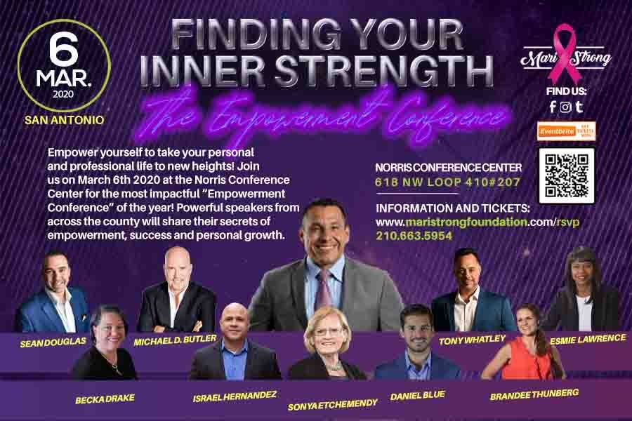 Image of Daniel Gomez Inspires Corporate Trainer, Motivational Keynote Speaker, Confidence Business and Life Coach in San Antonio, Finding Your Inner Strength , The Empowerment Conference